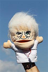Bernie Ecclestone's puppet
