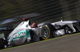 Michael Schumacher, Mercedes, Suzuka 2011
