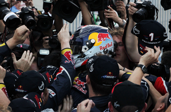 Sebastian Vettel Red Bull 2011 Japanese Grand Prix