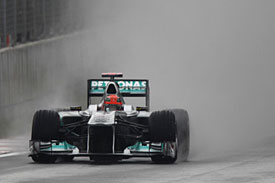 Michael Schumacher, Korea, 2011