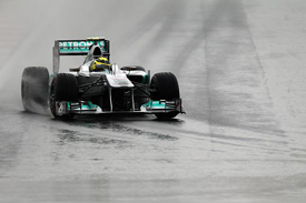 Nico Rosberg, Mercedes, Korea 2011