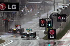 F1 drivers to be warned with lights about rivals exiting the pits in Korea