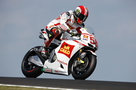 Marco Simoncelli, Gresini Honda, Phillip Island 2011