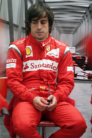 Fernando Alonso Ferrari 2011 Korean Grand Prix