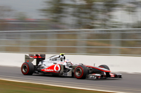 Jenson Button McLaren 2011 Korean Grand Prix