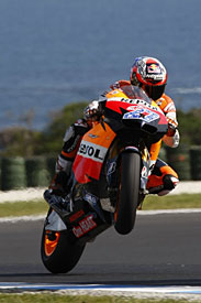 Casey Stoner, Honda, Australia 2011