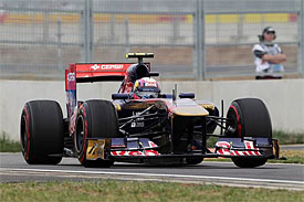 Jaime Alguersuari, Toro Rosso