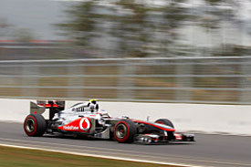 Jenson Button, McLaren, 2011 Korea