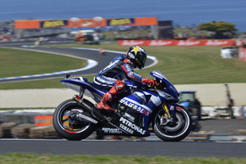 Jorge Lorenzo Yamaha 2011 Australian Grand Prix