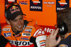 Casey Stoner Honda 2011 Australian GRand Prix