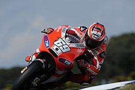 Nicky Hayden, Ducati, Phillip Island 2011