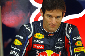 Mark Webber Red Bull 2011 Korean Grand Prix