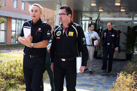 Martin Whitmarsh mcLaren Eric Boullier Renault FOTA meeting 2011 Korean Grand Prix
