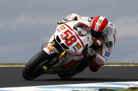 Marco Simoncelli Gresini Honda 2011 Australian Grand prix