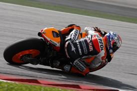 Casey Stoner Honda MotoGP test Sepang 2011
