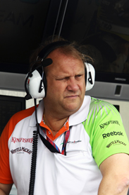 Bob Fernley Force India 2011