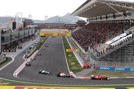 Start 2011 Korean Grand Prix