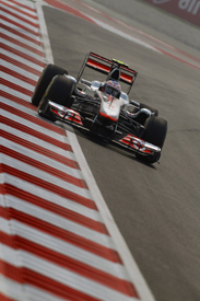 Jenson Button, McLaren, India 2011