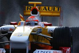 Nelson Piquet Jr, action