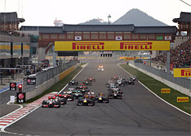 Korean GP start