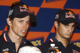 Stoner and Pedrosa