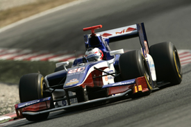 Stephane Richelmi Trident Barcelona test 2011