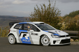 Carlos Sainz Volkswagen Polo 2011 test WRC
