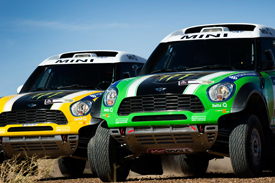 X-Raid Minis 2012 Dakar