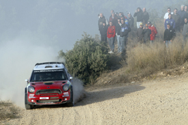 Kris Meeke, Mini, Spain 2011