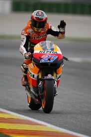 Casey Stoner, Honda, Valencia 2011