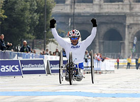 Zanardi wins New York Marathon
