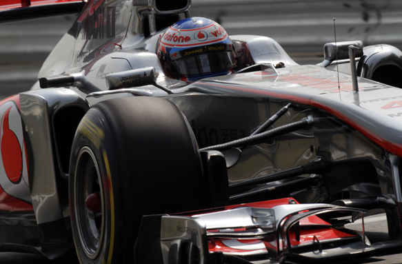 Jenson Button McLaren 2011 Grand Prix