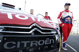 Sebastien Loeb Citroen WRC Rally GB 2011
