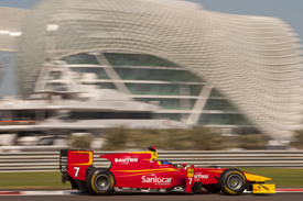 Fabio Leimer, Racing Engineering, Abu Dhabi GP2