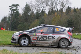 Ott Tanak, DMACK Ford, Rally GB 2011