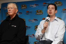 Joe Gibbs and Kyle Busch