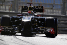 Romain Grosjean, Renault, Abu Dhabi 2011