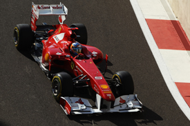 Fernando Alonso Ferrari 2011 Abu Dhabi Grand Prix