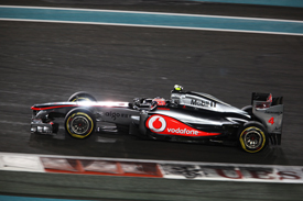Jenson Button McLaren 2011 Abu Dhabi Grand Prix
