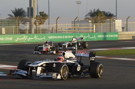 Rubens Barrichello, Williams, Abu Dhabi 2011