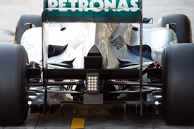 Mercedes exhaust