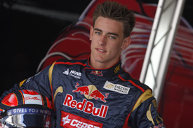 Kevin Ceccon Toro Rosso test Yas Marina 2011