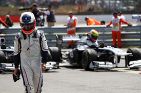Rubens BArrichello Williams 2011 Abu Dhabi Grand Prix