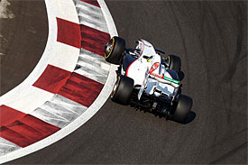 Sauber buoyed by Abu Dhabi pace
