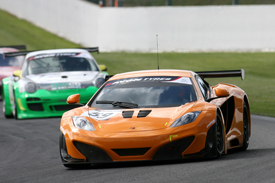 McLaren MP4-12C Kirkaldy Goodwin British GT Spa 2011