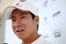 Kamui Kobayashi Sauber