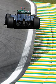 Michael Schumacher, Brazil, 2011
