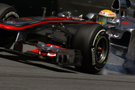 Lewis Hamilton, McLaren, Brazil 2011