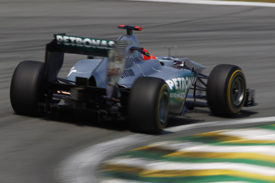 Michael Schumacher Mercedes 2011 Brazilian Grand Prix