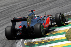 Lewis Hamilton McLaren 2011 Brazilian Grand Prix